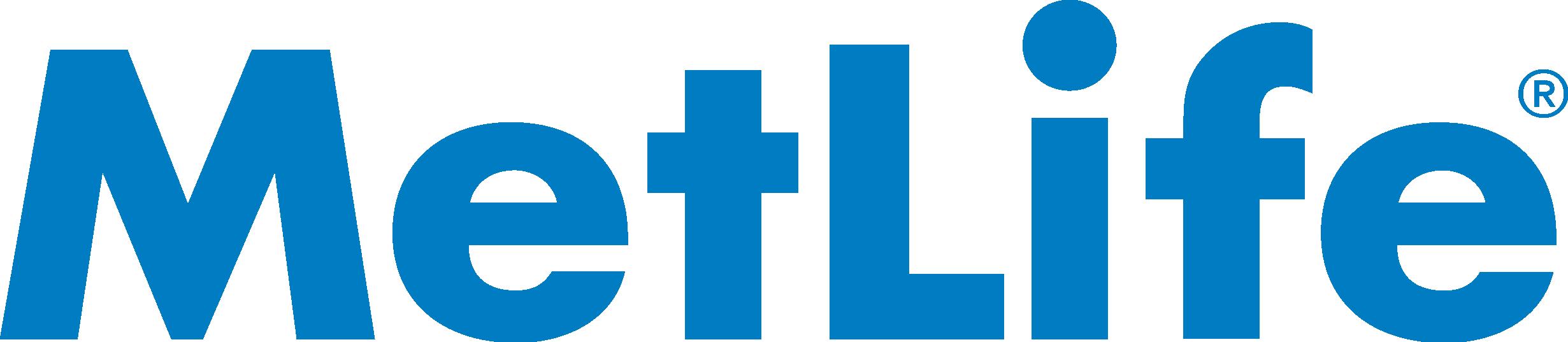 MetLife logo in white