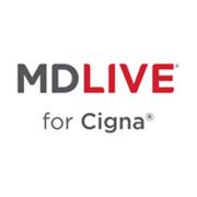 MDLive for Cigna Logo